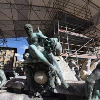 Biancone, a Firenze il cantiere del restauro è uno show
