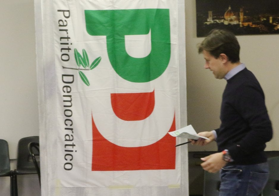 Firenze, il sindaco Nardella al seggio