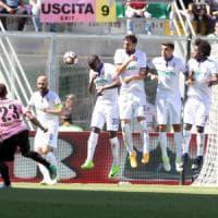 Fiorentina in caduta libera a Palermo: l'Europa è più lontana