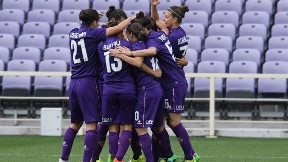 Fiorentina Women's, via alla gran festa scudetto