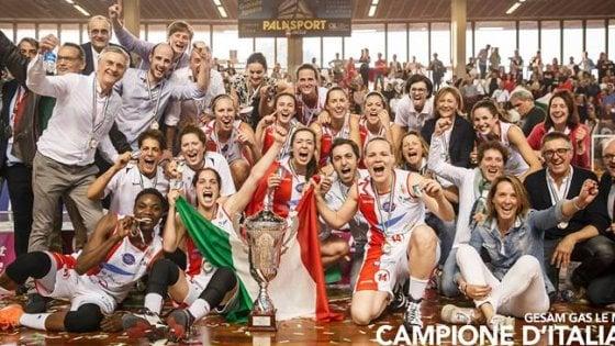 Basket femminile, Lucca entra nella storia: la Gesam vince il suo primo scudetto