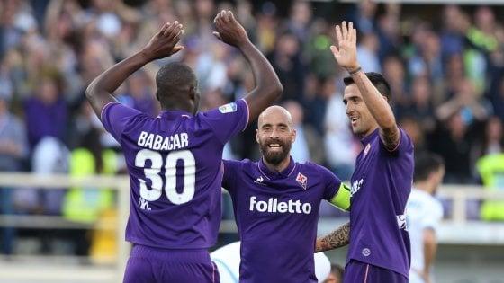 La Fiorentina vince 3-2 con la Lazio e resta aggrappata al sogno Europa