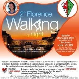 Sabato la seconda Florence Walking by Night