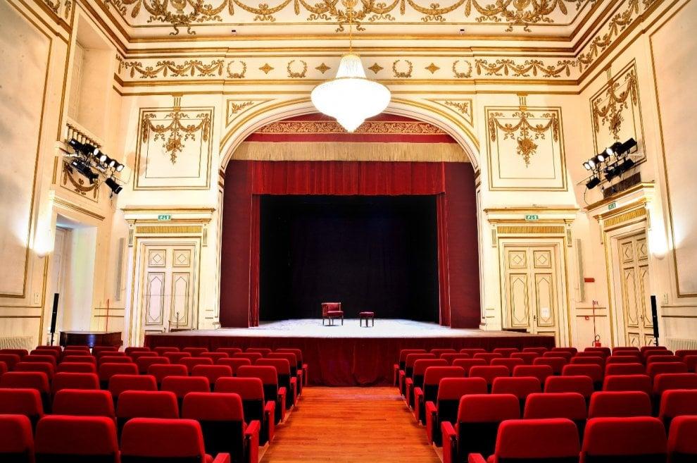 Il saloncino del teatro della Pergola a Firenze dedicato a Paolo Poli
