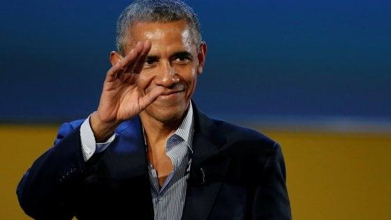 Obama e Michelle arrivati in Toscana. Lunedì incontreranno Renzi e la moglie Agnese a Firenze