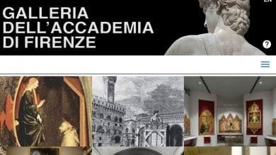 L'Accademia sbarca sul web:  online il primo sito ufficiale della Galleria