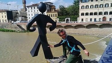 """Clet condannato, l'artista deve pagare 10mila euro per il suo """"Uomo comune"""""""