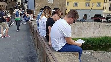 Le barriere inutili sul Ponte Santa Trinita