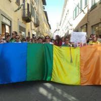 Arezzo, sfila il Toscana Pride