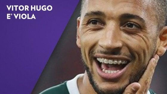 Fiorentina, è ufficiale: Vitor Hugo è un nuovo giocatore viola
