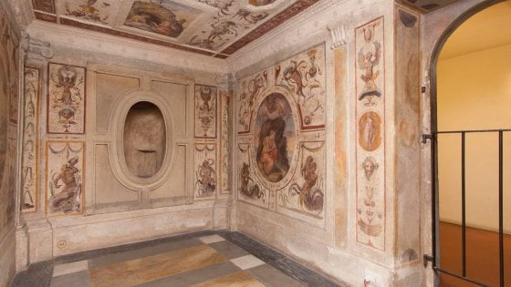 Design Bagno Poggio Piccolo : Firenze a palazzo vecchio si restaura il bagno di cosimo i