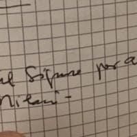 Barbiana, la dedica scritta dal papa sul foglio per don Milani