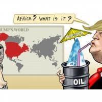 Tutte le vignette del presidente, il mondo della satira ride di Trump