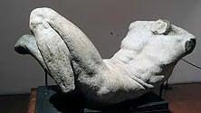 """Restaurato il """"Dio fluviale"""" di Michelangelo"""