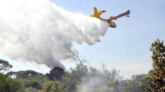 Castiglione della Pescaia, spento l'incendio si contano i danni