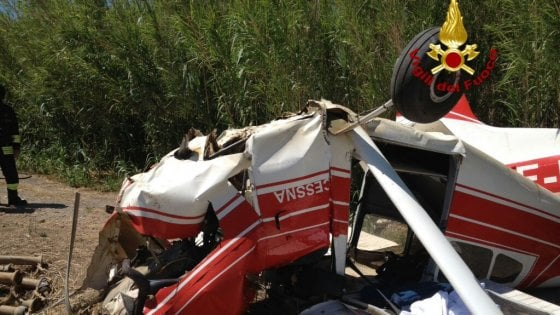 Paura all'aviosuperficie: incidente in decollo, 4 sbalzati fuori, pilota in coma
