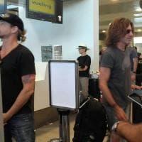 Firenze, anche la band di Vasco in coda all'aeroporto