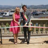 Firenze, al piazzale Michelangelo restaurata la balaustra grazie a Starhotels