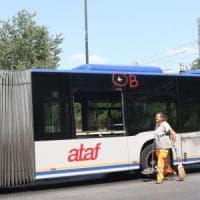 Firenze, biglia lanciata contro un bus dell'Ataf: spaccato un vetro