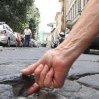 Firenze, voragini nell'asfalto: nelle vie