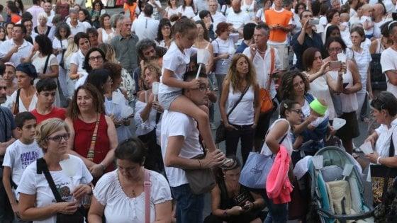 Firenze, seicento in piazza contro l'obbligo dei vaccini