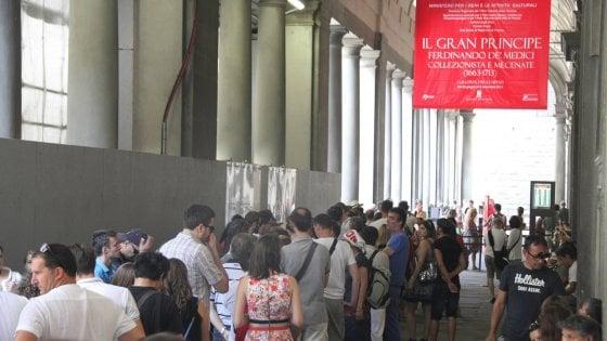 Uffizi, la rivoluzione dei biglietti: entrata a 20 euro in alta stagione