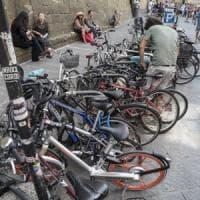 Bici selvaggia a Firenze:
