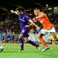 Fiorentina, tre gol alla Pistoiese pensando al mercato