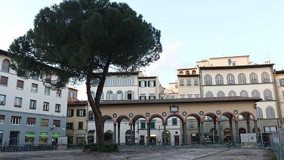 Firenze, piazza dei Ciompi avrà il suo giardino