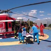 Chiusi della Verna, cade in casa: salvata con l'elicottero