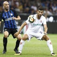 Fiorentina, esordio amaro, l'Inter vince 3-0