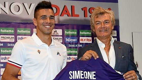 Simeone si presenta: