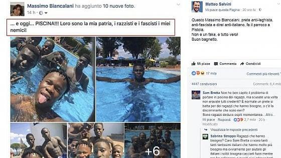 Pistoia, gli insulti al prete di Salvini diventano un caso politico. E in Regione arriva la mozione del Pd