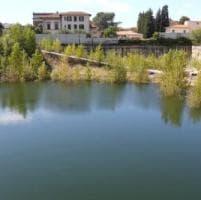 Firenze. Lago nel cantiere Belfiore, l'acqua della falda ristagna: