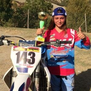 Motocross, Elisa Galvagno: la tredicenne toscana vicina al titolo Under 17