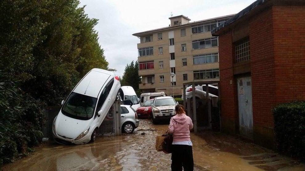 alluvione, maltempo, Livorno