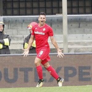 Verona-Fiorentina, il momento decisivo: la prima rete in maglia viola di Simeone