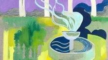 Le visioni colorate di Shirin Golestaneh alla Galleria Mentana
