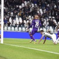 Fiorentina, un cambio maledetto: fuori Laurini, gol di Mandzukic