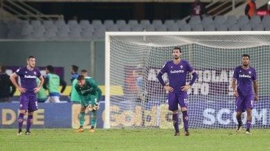 Fiorentina, la grande delusione l'Atalanta pareggia allo scadere: 1-1