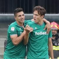 La Fiorentina ritrova Simeone, ma poi si spegne e passa il Chievo
