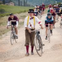 Fatica, sudore e pedalare: i 7000 campioni dell'Eroica, il ciclismo vintage