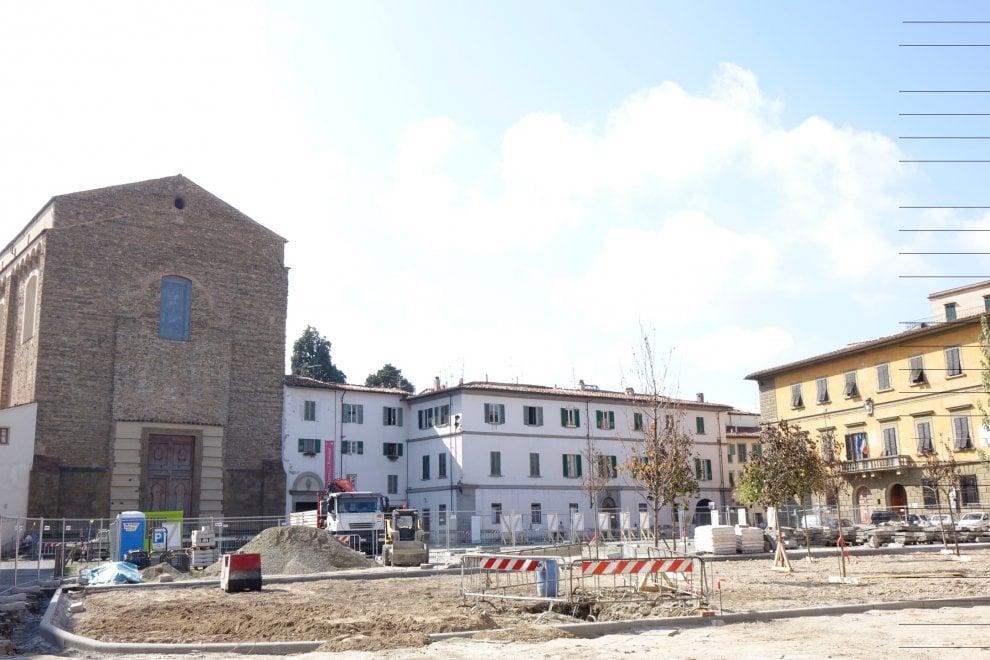 """Firenze, ecco il boschetto al Carmine. Con gli alberi """"prova"""""""