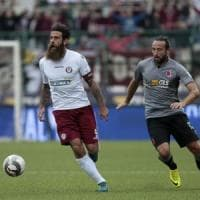 Davide Moscardelli, l'antidivo con la barba ad Arezzo: