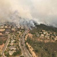 Incendi, a fuoco la tenuta dei marchesi Antinori in California