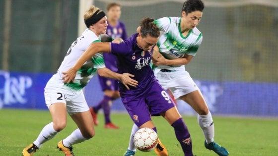 Fiorentina Women's agli ottavi di Champions League. 0-0 in Danimarca