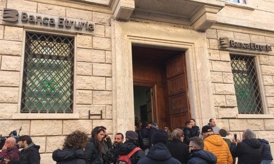 Banca Etruria, 2.500 piccoli risparmiatori parte civile