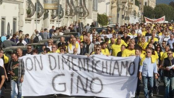 Firenze: tensione al corteo dei tassisti sulla sicurezza
