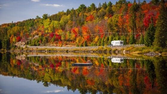 Outdoor d'autunno