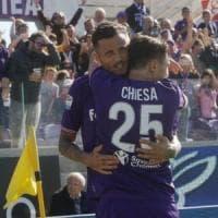La Fiorentina vince con Thereau, la doppietta dell'ex: